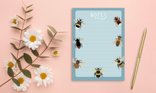 Load image into Gallery viewer, Bumble Bee Notepad