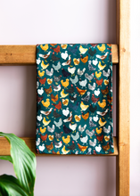Load image into Gallery viewer, Chicken Print Tea Towel