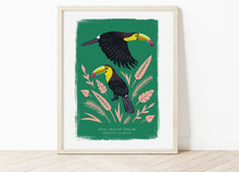 Load image into Gallery viewer, Keel-Billed Toucan Print