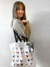 Load image into Gallery viewer, A-Z of Chickens Tote Bag