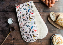 Load image into Gallery viewer, Bird Print Oven Gloves