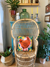 Load image into Gallery viewer, Chicken and Bananas Cushion