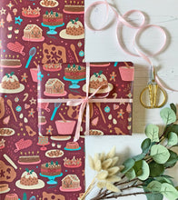 Load image into Gallery viewer, Christmas Baking Wrapping Paper