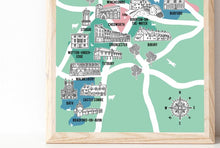 Load image into Gallery viewer, Cotswolds Illustrated Map