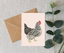 Load image into Gallery viewer, Cute Chicken Card
