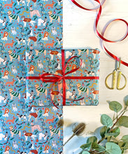 Load image into Gallery viewer, Dogs Christmas Wrapping Paper