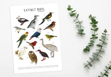 Load image into Gallery viewer, Extinct Birds Print