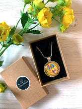 Load image into Gallery viewer, Folk Chicken Pendant Necklace