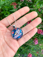 Load image into Gallery viewer, Goldfinch and Figs Pendant Necklace