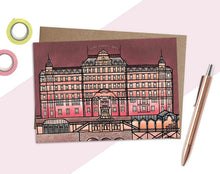 Load image into Gallery viewer, Grand Budapest Hotel Card