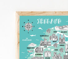 Load image into Gallery viewer, Ireland Illustrated Map