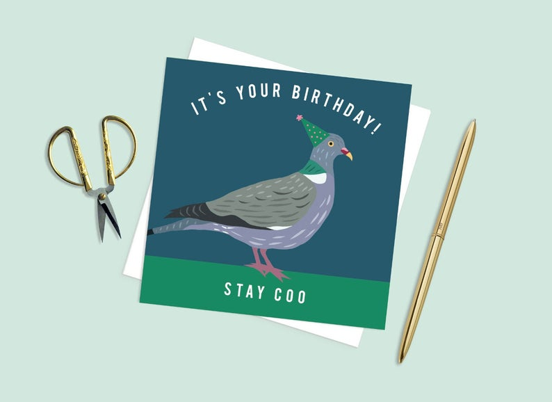 It's Your Birthday Stay Coo Card
