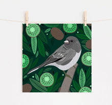 Load image into Gallery viewer, Junco and Kiwi Print