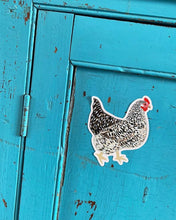 Load image into Gallery viewer, Large Chicken Vinyl Sticker