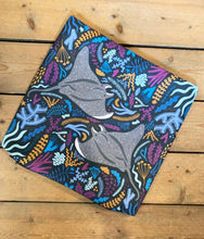 Load image into Gallery viewer, Manta Ray Cushion