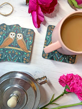 Load image into Gallery viewer, Folk Owl Coaster