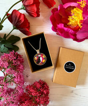 Load image into Gallery viewer, Puffin and Lemons Pendant Necklace