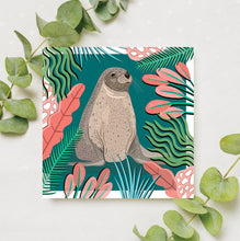 Load image into Gallery viewer, Sea Lion Card