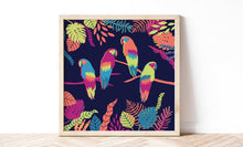 Load image into Gallery viewer, Set of 2 Colourful Jungle Prints