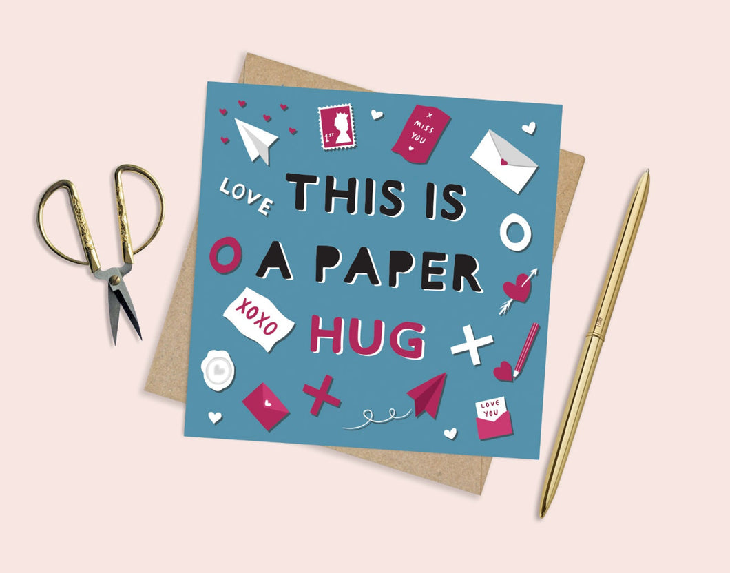 This Is A Paper Hug Card