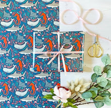 Load image into Gallery viewer, Under The Sea Wrapping Paper
