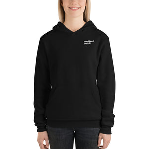 Open image in slideshow, Resilient Retail Hoodie (Black)