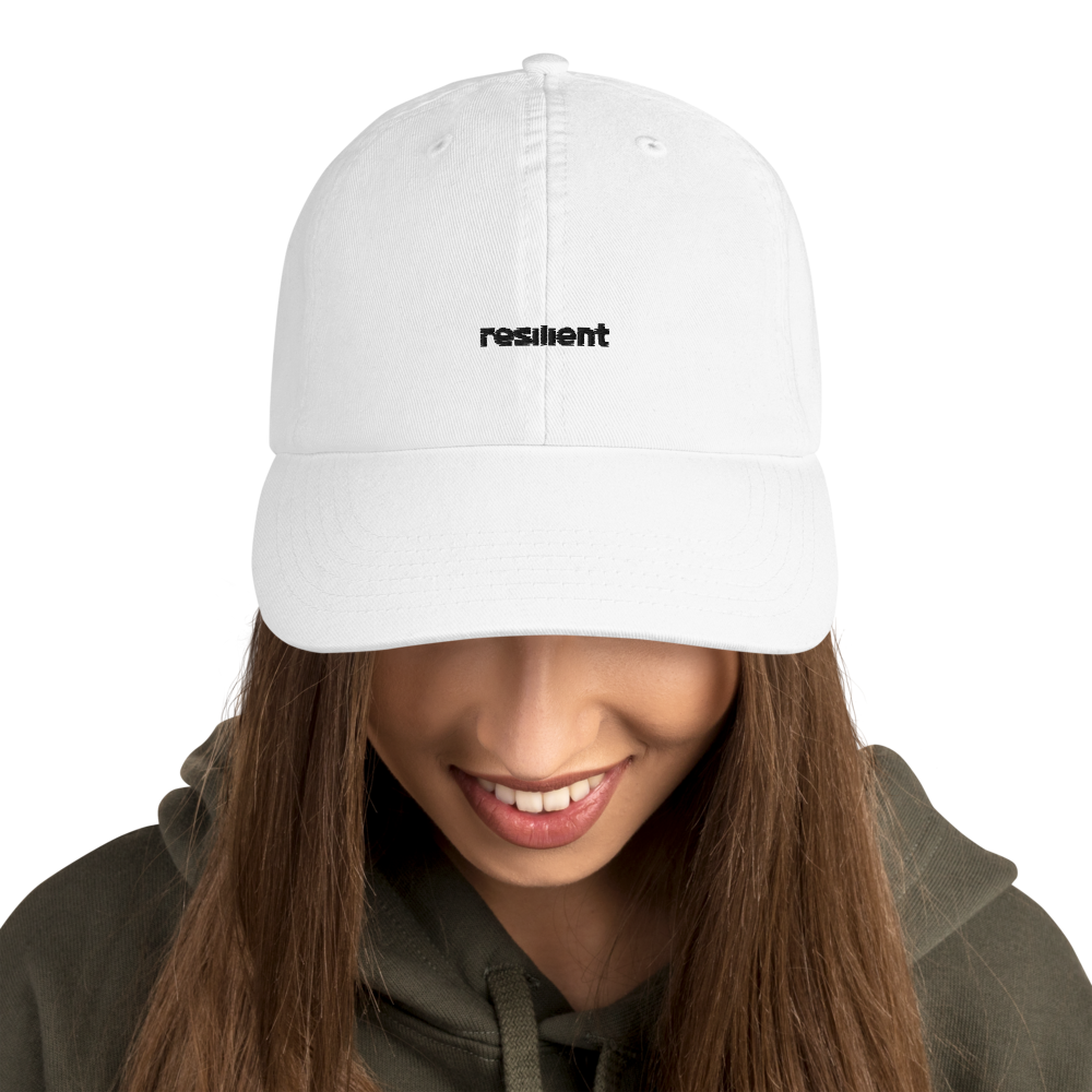 'Resilient' Champion Hat (White)