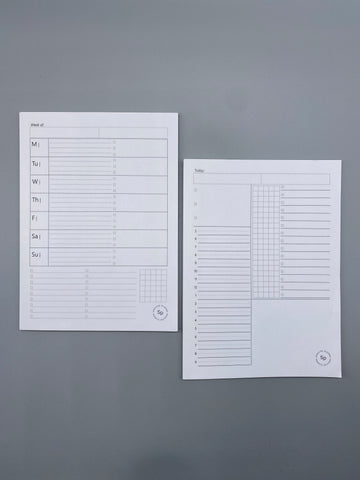 Sprouted Planner Sticky Notes