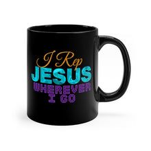 Load image into Gallery viewer, I REP JESUS WHEREVER I GO MUG