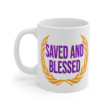 Load image into Gallery viewer, SAVED AND BLESSED MUG