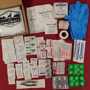 High Elevation Medical First Aid Kit - The Sportsman's Doctor