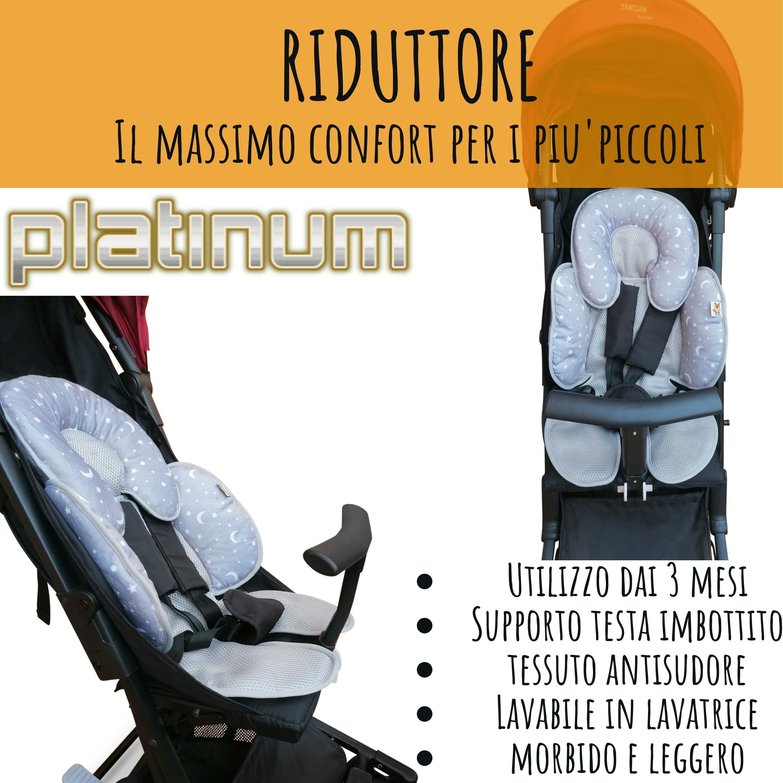 PassegginoPiuma0+ Ultraleggero, Compatto, Robusto, Reclinabile e Super Accessoriato!