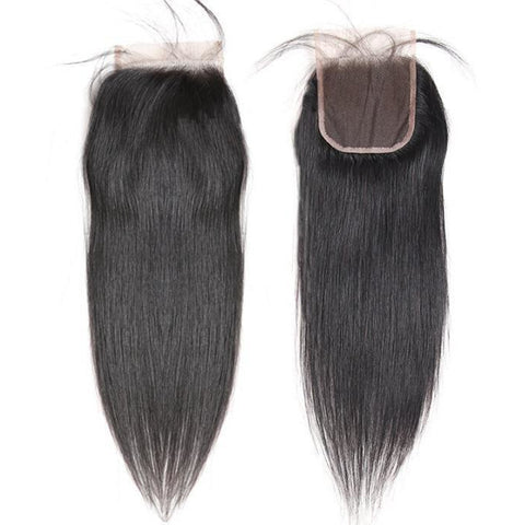 "Brazilian Luxe Straight Closure (4x4"" & 5x5"") - King Collection"