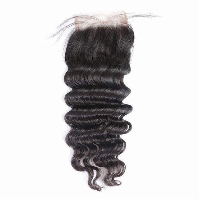 Brazilian Loose Deep Wave Closure - King Collection