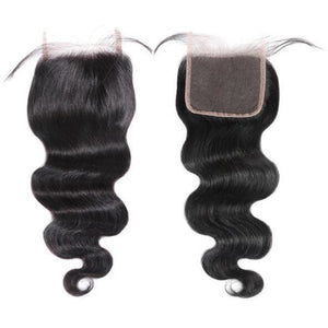 "Brazilian Bodywave Closure (4x4"" & 5x5"") - King Collection"