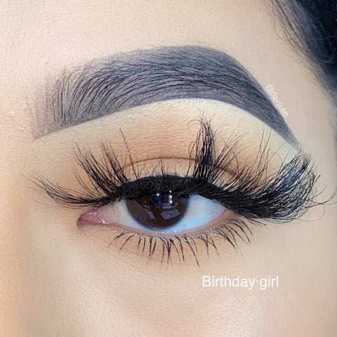 Birthday Girl Mink Lashes - King Collection