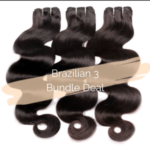 Brazilian 3 Bundle Deal - King Collection