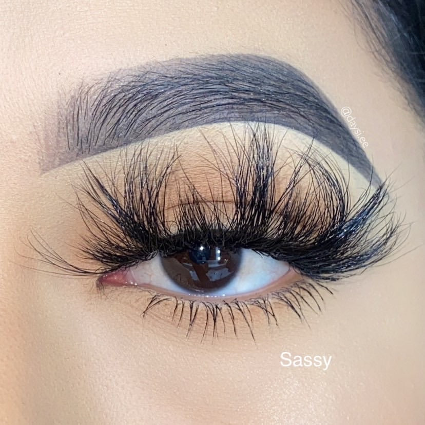 【 HOT 】Sassy Mink Lashes - King Collection