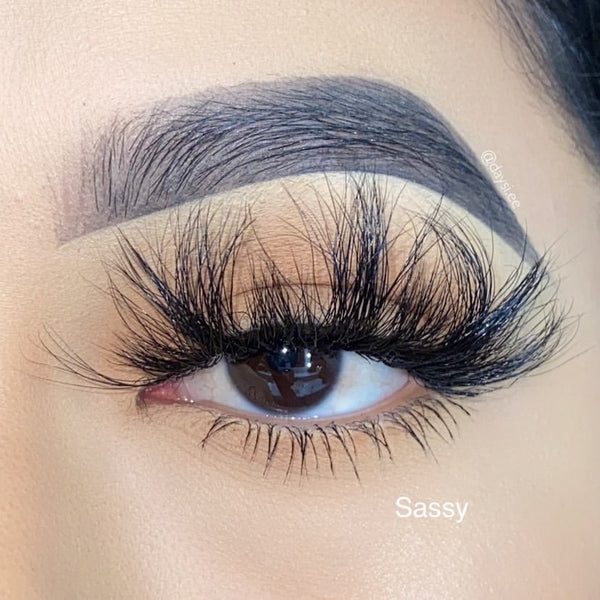 Sassy Mink Lashes - King Collection