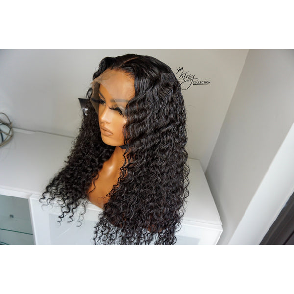 Elsi  - Deep wave Lace Frontal Wig - King Collection
