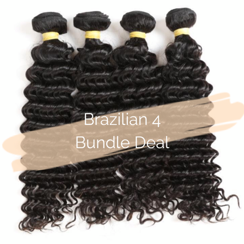 Brazilian 4 Bundle Deal - King Collection