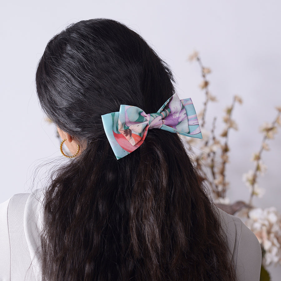 Sea Lavender Mini Bow