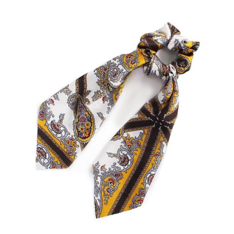 scrunchie with print