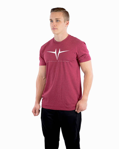 Athletic Division Tee - Cardinal