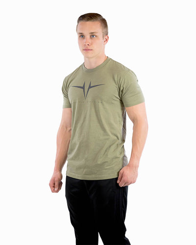 Athletic Division Tee - Light Olive