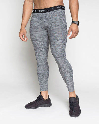 Flexfit Full Length Compression Pants - Blackstone