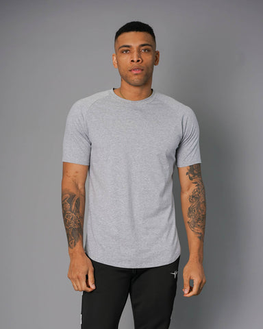 Invictus Elite Tee - Light Heather Gray