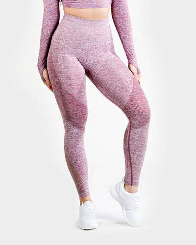Lexi Seamless High Waisted Leggings - Raspberry