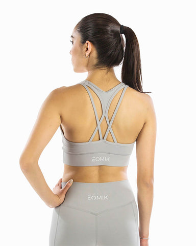Lucid Sports Bra - Slate Gray