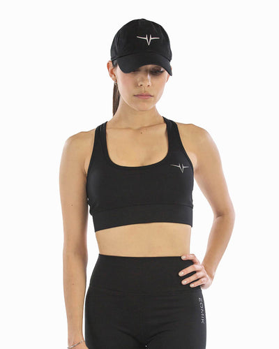 Lucid Sports Bra - True Black
